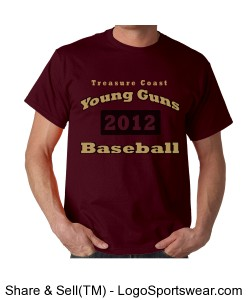 Young Guns 2012 T-shirt Design Zoom